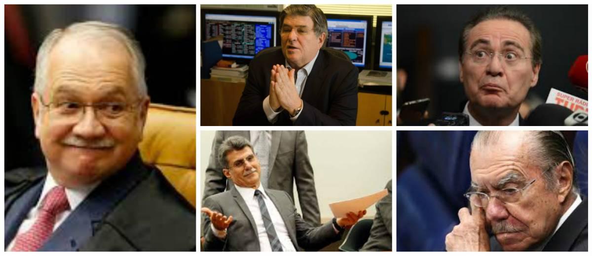 Fachin determina que PF interrogue Jucá, Renan, Sarney e Sérgio Machado
