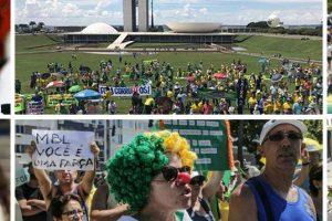 FRACASSO DE PÚBLICO: Protesto do MBL reúne poucas pessoas