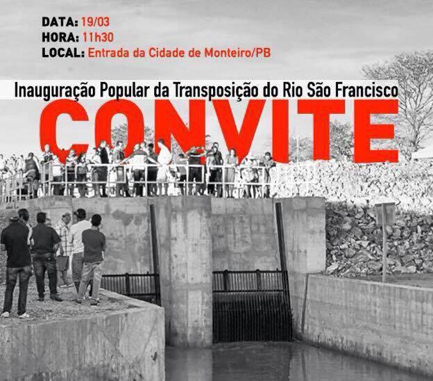 MST divulga convite para visita do ex-presidente Lula à Monteiro