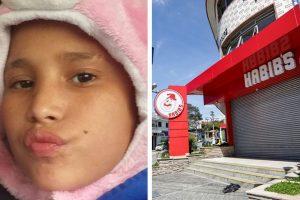 Justiça determina exumação do corpo de adolescente que morreu após confusão no Habib's