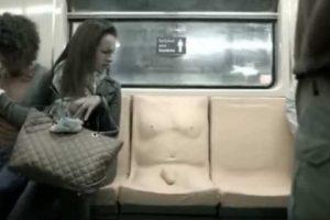 Metrô do México instala banco com pênis em campanha contra assédio – VEJA VÍDEO