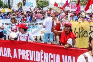 Movimentos protestam nesta quarta contra reforma da Previdência