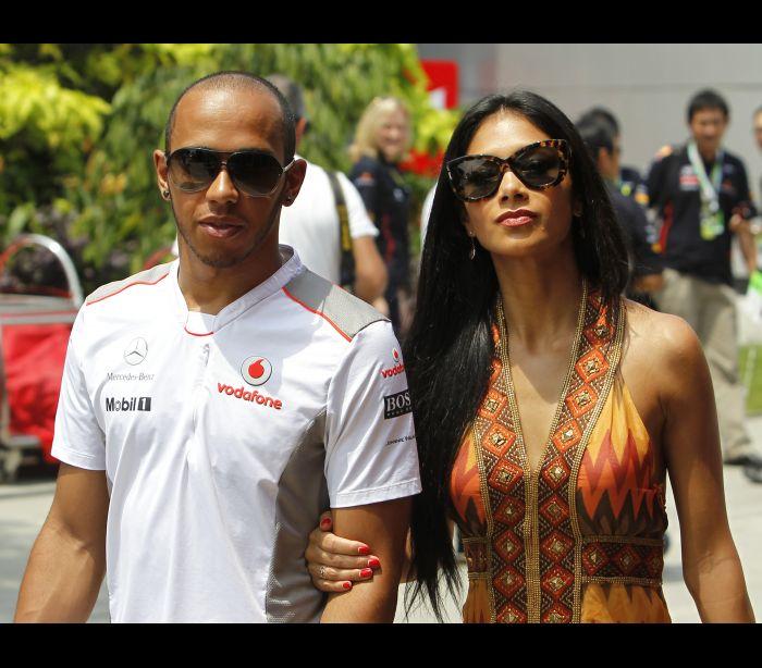 Um dos favoritos da F1, Hamilton coleciona affairs fora das pistas