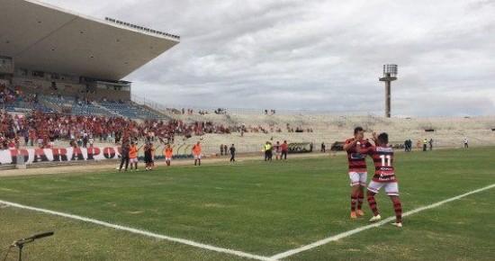 Campinense atropela o Uniclinic-CE e garante classificação antecipada na Copa do Nordeste