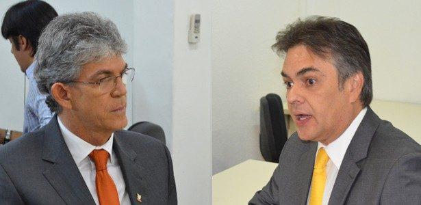CÁSSIO QUER: Por que Cássio bate na jugular de Ricardo e Cartaxo e Maranhão não ?  Por Walter Santos