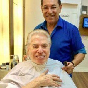 silvio santos 4 300x300 - Silvio Santos volta a assumir cabelos brancos