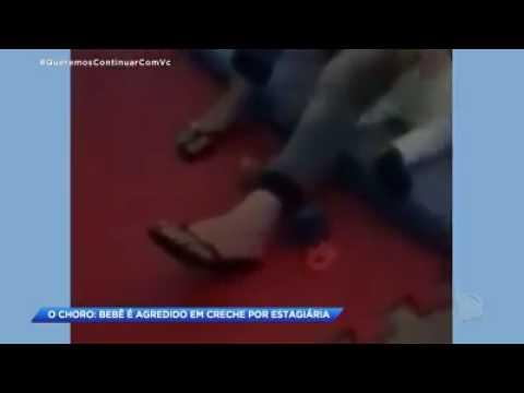 VEJA VÍDEO: Bebê de oito meses é agredido por professora em creche
