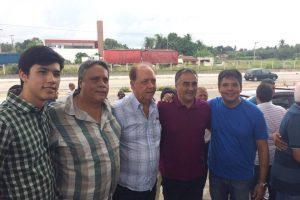 Luciano Cartaxo visita Mamanguape e é recepcionado por lideranças
