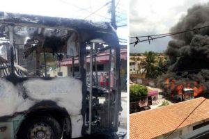 Ataques contra prédios, bancos e ônibus causam onda de terror no Ceará – VEJA VÍDEO