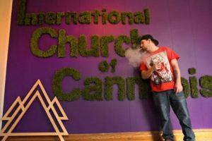 Vídeo: EUA inaugura primeira Igreja Internacional da Cannabis