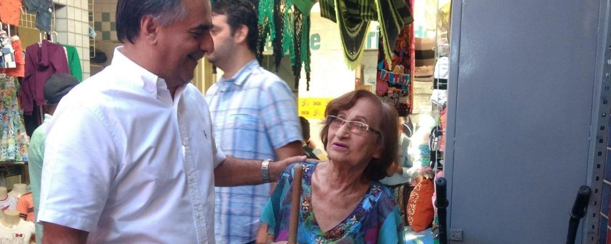 A convite de Dinaldinho, Lucélio Cartaxo cumpre atividade política em Patos