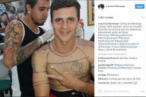 Torcedor do Flamengo tatua a camisa do time em tamanho real e divide opiniões – VEJA VÍDEO