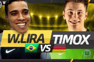 Ex-jogador de futebol vence alemão por 7 a 1 no FIFA