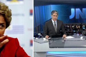 DILMA DETONA A GLOBO: Esta emissora tem sido uma arma contra nossa democracia