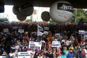 Manifestações desta sexta serviram de 'esquenta' para a greve geral marcada para o próximo dia 28