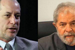 Ciro é o maior interessado na inelegibilidade de Lula em 2018