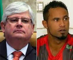 Janot pede ao STF o retorno do goleiro Bruno à prisão