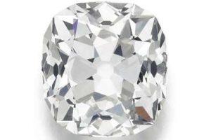 Diamante comprado por 10 libras em feira de usados é avaliado em 350 mil para leilão