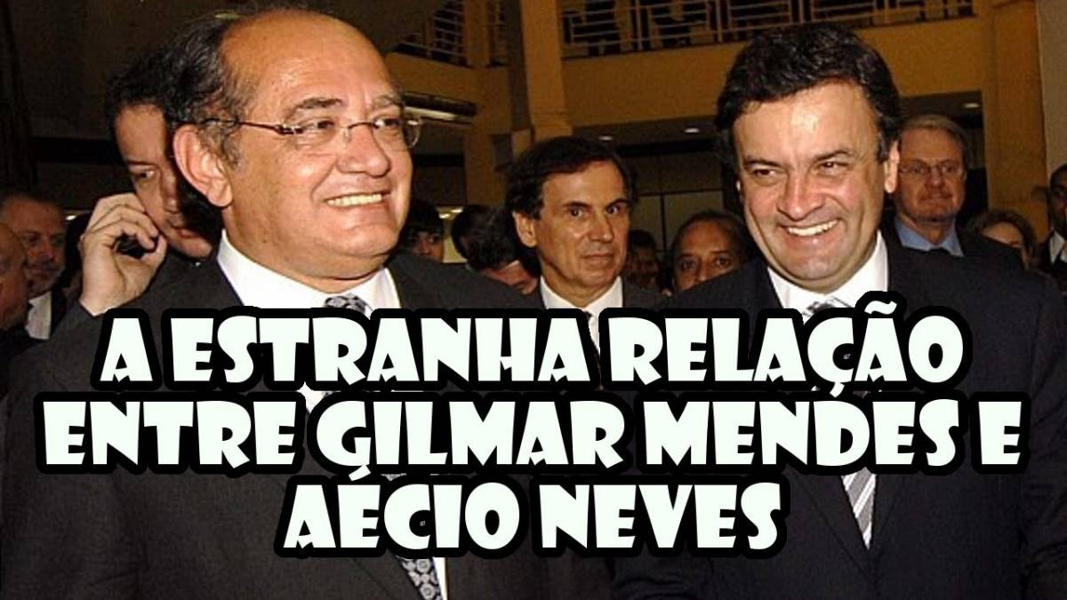 Relátório da PF aponta 46 ligações entre Aécio e Gilmar Mendes durante dois meses
