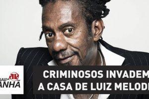Bando usou máquina de cartão e pistola dourada em assalto à casa de Luiz Melodia