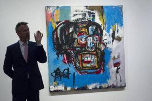 Quadro de Basquiat bate recorde em leilão: US$ 110,5 milhões