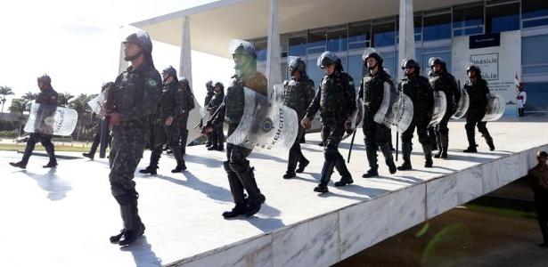 TEMER RECUA: Revogado decreto que colocou Forças Armadas nas ruas de Brasília