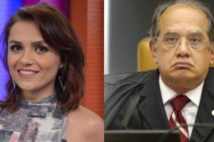 Em decisão final, Monica Iozzi terá que pagar R$ 30 mil para Gilmar Mendes