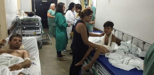 """INTERNADOS NOS CORREDORES: Sem leitos, Rio Grande do Norte improvisa UTI e cria """"fila da morte"""""""