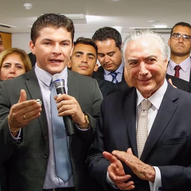 2018: Presidente do PMDB jovem nacional visita a Paraíba e deixa dúvida no ar