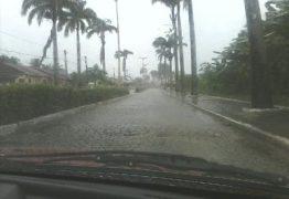 Chuvas deixam João Pessoa e outras 82 cidades em alerta
