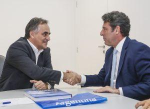 Luciano Cartaxo recebe visita do embaixador da Argentina e destaca fortalecimento do turismo