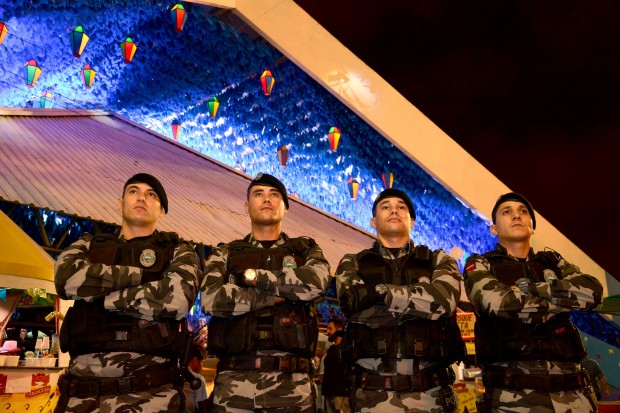 Plano de segurança conta com efetivo de 950 homens nos festejos juninos