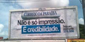 jornal correio da paraíba 300x150 - Último jornal impresso diário no Estado 'Correio da Paraíba' já tem data para fechar as portas, revela site campinense