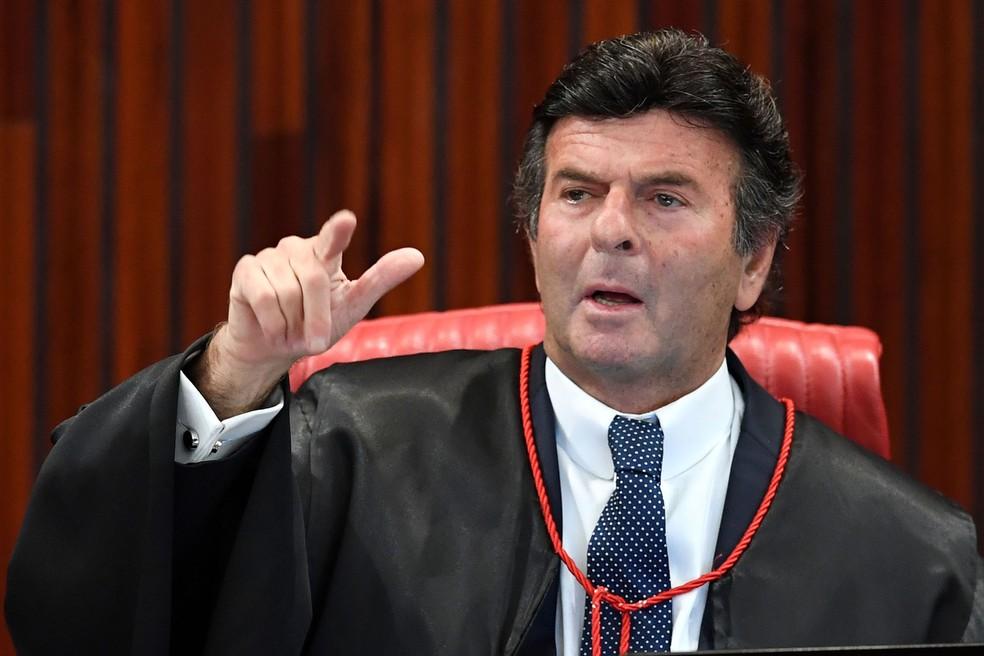 Luiz Fux questiona se Lula poderia concorrer a presidência em 2018