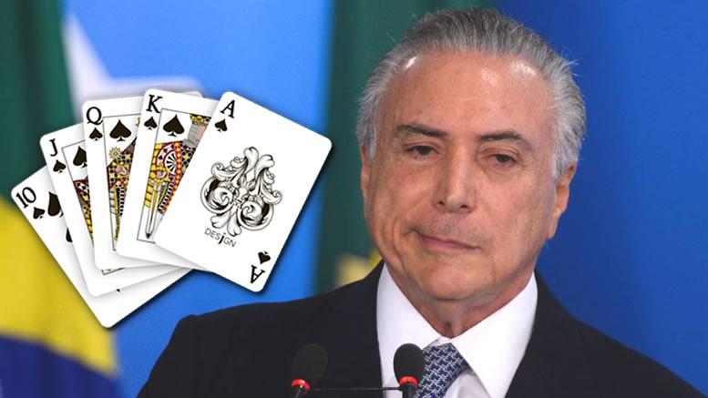 JOGO DE CARTAS MARCADAS: Não haverá cassação de mandato pelo TSE