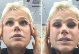 VEJA VÍDEO: Aos 54 anos Xuxa desabafa sobre sua aparência em um bate-papo no instagram