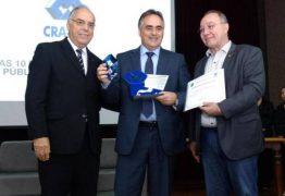 Em Campina Grande, Luciano Cartaxo recebe prêmio de melhor gestor da Paraíba