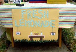 Menina de 5 anos é multada por vender limonada 'sem licença'