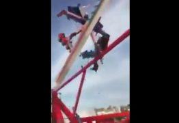 VEJA VÍDEO: Acidente com brinquedo em parque de diversões deixa um morto e sete feridos