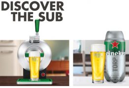 Nova chopeira da Heineken prepara cerveja a partir de cápsulas -VEJA VÍDEO