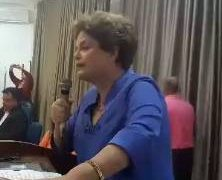 ASSISTA AO VIDEO: Dilma denuncia exclusão de um milhão de pessoas do Bolsa Família durante palestra na UFPB