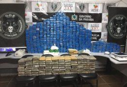 Operação policial apreende quase 500 quilos de drogas em João Pessoa