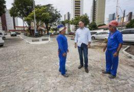 Prefeito Luciano Cartaxo anuncia entrega de praça no Miramar