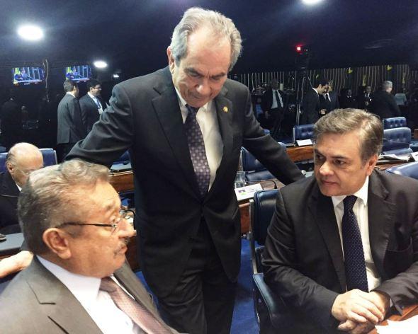 Senadores paraibanos devem votar a favor da Reforma Trabalhista.