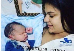 Nasce filho de jogador morto em acidente aéreo da Chapecoense
