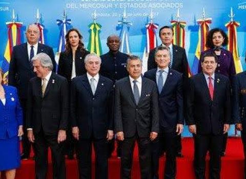 Mercosul isola Brasil e rechaça ameaças de Trump contra Venezuela