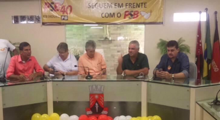 VEJA VÍDEO: Câmara Municipal de Guarabira lota com encontro regional do PSB