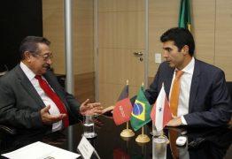 No Ministério da Integração Nacional, Maranhão pede 5 perfuratrizes para DNOCS e cobra agilidade na obra da transposição do Rio São Francisco