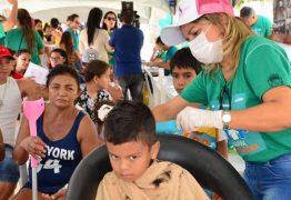 Moradores do bairro do Mutirão recebem caravana das boas ações em Patos
