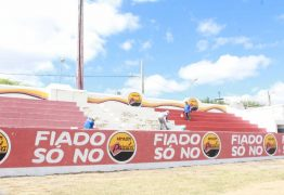 Prefeitura de Patos intensifica reformas do estádio José Cavalcanti